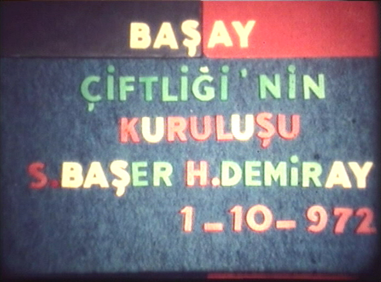 The foundation of our company and trademark BAŞAY: 1 October 1972