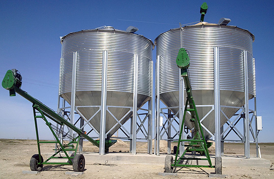 50 x 2 ton Grain Storage Silos