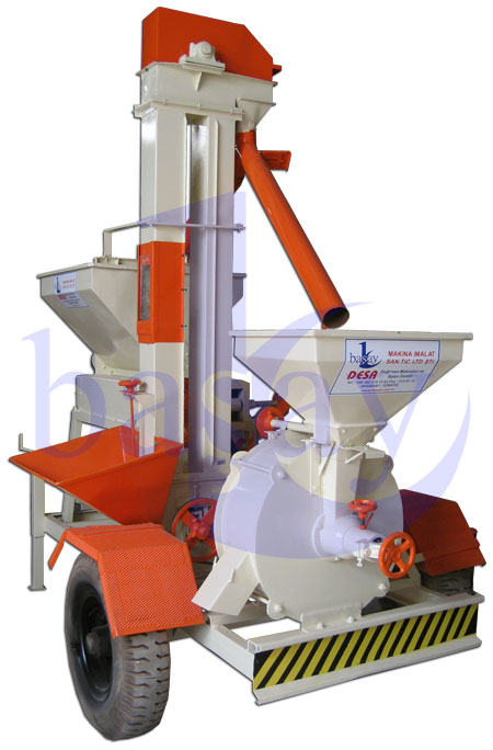 BASAY Mobie Crusher and Roller