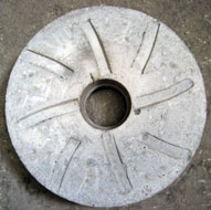 BASAY DESA size 50 Bulgur & Crusher Stone Rear